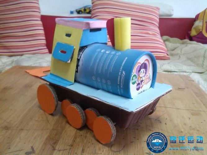 幼儿园纸牛奶盒手工图片